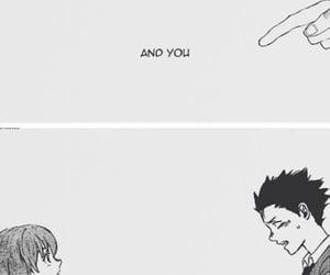 manga, anime, and koe no katachi image