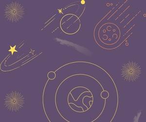 estrellas, planetas, and fondo image