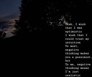 dark, Lyrics, and message image