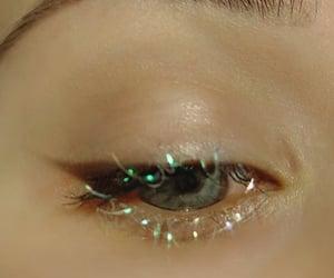 eyeshadow, iridescent, and editorial makeup image