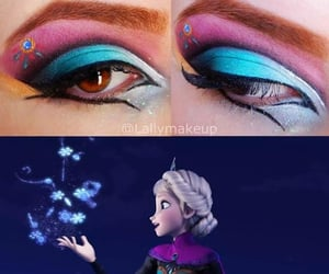 blue, disney princess, and frozen image