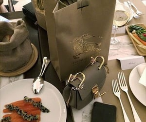 food and Burberry image