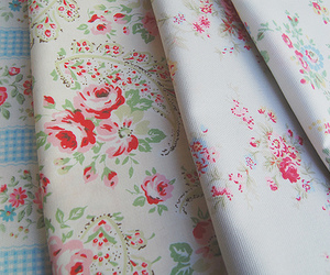 cath kidston, floral, and wrapping paper image