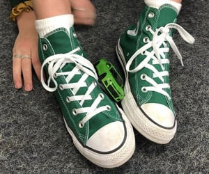 green, shoes, and aesthetic image