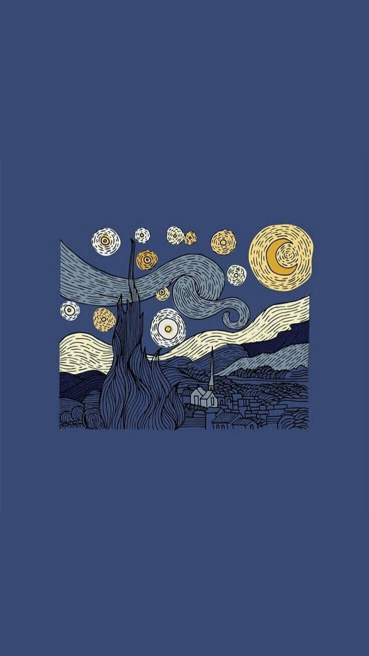 Starry Night Van Gogh La Nuit étoilée Van Gogh