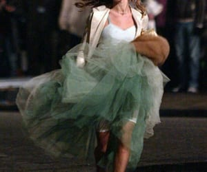 Carrie Bradshaw, dress, and fashion image