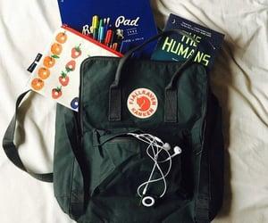 backpack, girl, and tumblr image