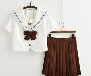 high school, japanese, and sailor image