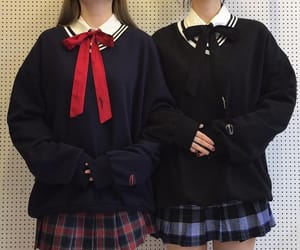asia, uniform, and high school image