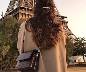 hair, paris, and style image