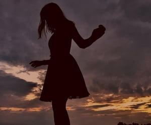 aesthetic, dancing, and dress image
