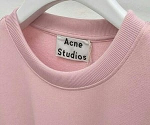pink, acne, and acne studios image