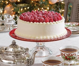 cake, navidad, and christmas . party image