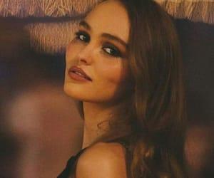 model, lily-rose depp, and makeup image
