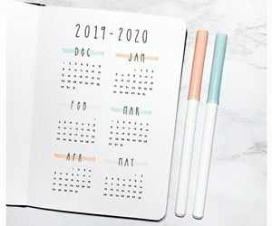 2020, calendar, and new year image