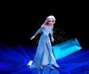 beautiful, disney, and la reine des neiges image