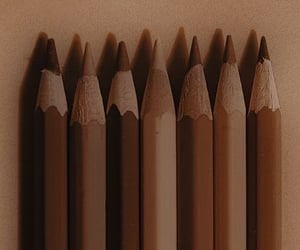 brown, aesthetic, and art image