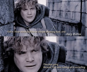 lord of the rings, samwise gamgee, and tolkien image