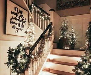 christmas, lights, and home image