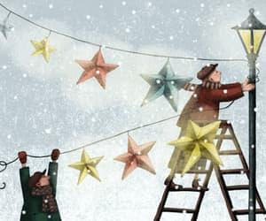 christmas, decoracion, and estrellas image