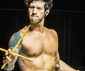 drummer, fitness, and trench image