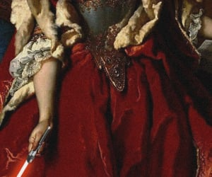 red, renaissance, and starwars image