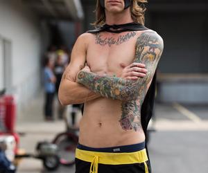 batman, tattoo, and beau bokan image