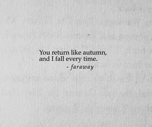 quotes, autumn, and faraway image