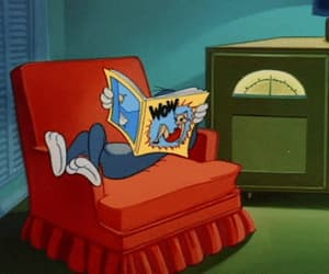 cartoons, gif, and tom and jerry image