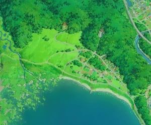 anime, cartoon, and Miyazaki image