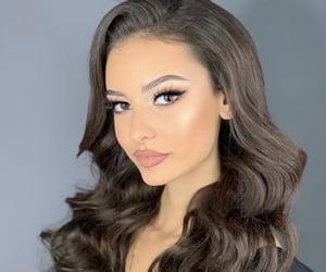 curls, elegant, and girl image
