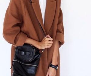 autumn, coat, and style image