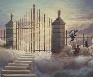 angel, beauty, and bible image
