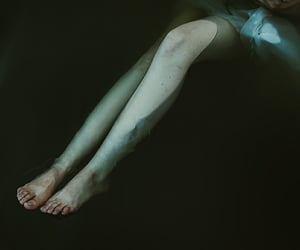 pale, dark, and grunge image