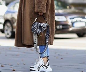 bags, brown, and coats image