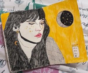 art, art journal, and girl image