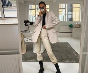 chic, fall, and fashion image
