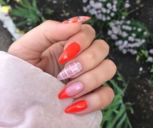 colors, nails, and style image
