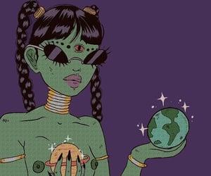 alien, art, and aesthetic image