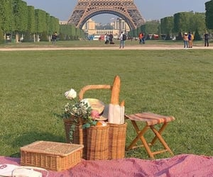 picnic, paris, and aesthetic image