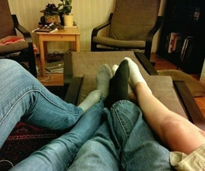comfort, couple, and romantic image