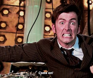 bbc, the tardis, and david tennant image