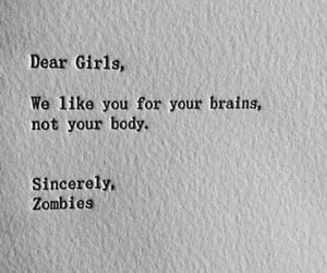body, brain, and zombies image
