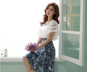 Full Skirt, lace, and blouse image