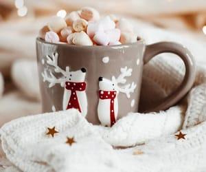 marshmallow and christmas image