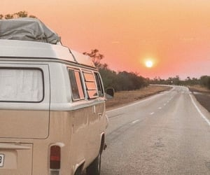sunset, travel, and aesthetic image