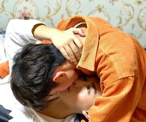 aesthetic, chinese, and kiss image