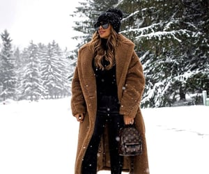 coat, fashion, and winter outfit image