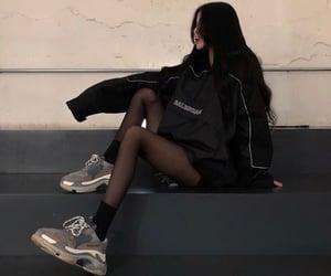 asian fashion, asian girl, and Balenciaga image