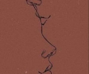 wallpaper, art, and kiss image